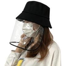 Transparent Protective Hat Anti-saliva Anti-fog Cap Isolation Removable ... - $22.13
