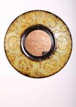 """Urbanest Mid Century Modern Round Wall Decor Mirror, 30"""" Diameter, Green Copper  - $89.09"""