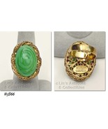 Vintage and Rare Miriam Haskell Ring (Inventory #J366) - $175.00