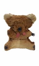 "Vtg Genuine Fur Stuffed Made Australia Australian Koala Bear 11"" Plush Joey Cub image 1"