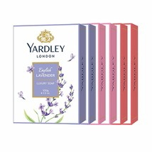 Yardley London Jabón (Inglés Lavanda, Rosa Inglesa, Royal Rojo Rosas) - 6x100g - $35.70