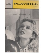 """The Music Box Theatre Playbill """"ANY WEDNESDAY' MAY 1964 Rosemary and Hac... - $3.00"""