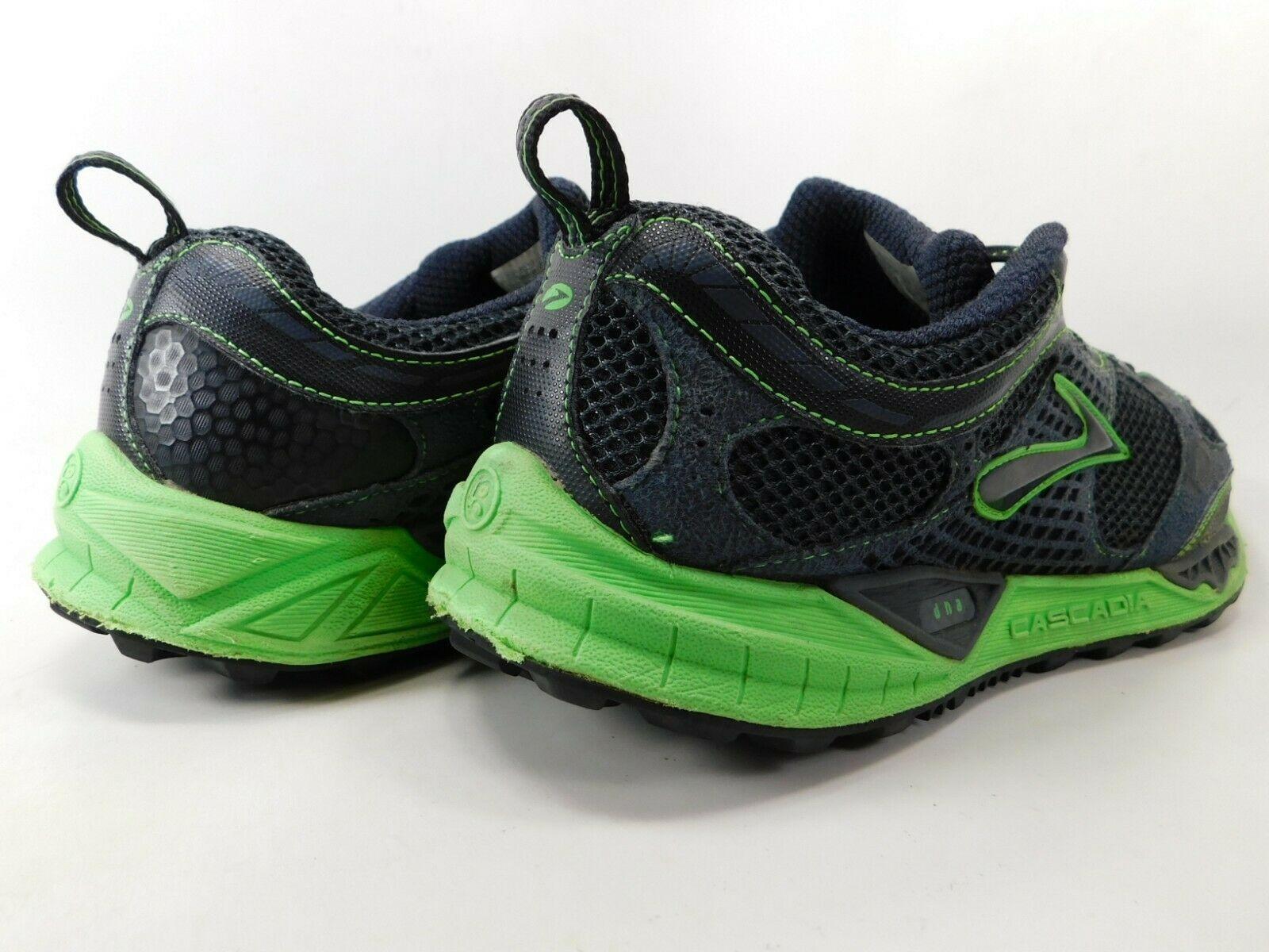 Brooks Cascadia 6 Size US 9.5 M (D) EU 43 Men's Trail Running Shoes Black Indigo