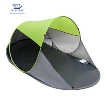 Relaxdays Abri de plage pop-up dôme solaire tente de plage 220 x 120 x 1... - $65.92 CAD