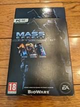 Mass Effect Trilogy (PC) BioWare EA Games PC DVD Game Complete Saga - $11.99