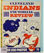 1965 Cleveland Indians Baseball 1869-1965 Pictorial Review - $34.65