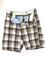 American Eagle Men's Striped Classic Casual Walking Shorts Size 28 Ec - $9.75
