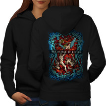 The Battle Of Heaven Sweatshirt Hoody War Women Hoodie Back - $21.99+