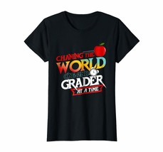 New Style - Changing The World One 2nd Grader At a Time T-Shirt Wowen - $19.95+