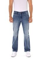 Indigo alpha Medium Blue Boot Cut Mens Jeans8016,W36/L32 - $45.20