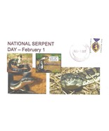 National Serpent Day February 1 2017 DR.L's Cachet #36 5 Made PM Belmont MI - €4,04 EUR