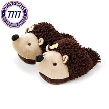 Aroma Home Aromahome Animal Fuzzy Friends Warm Womens Slippers Hedgehog - $48.58