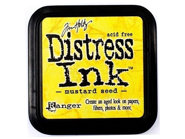 Ranger Tim Holtz Distress Ink Pad Full Size, Mustard Seed