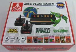 Atari Flashback 9 AR3050 Game Consoles with Wired Joystick Controllers - Black - $24.73