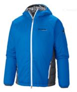 NWT COLUMBIA TITANIUM PRIMA HIKER JACKET LARGE HYPER BLUE OMNIHEAT LIGHT WEIGHT - $111.42