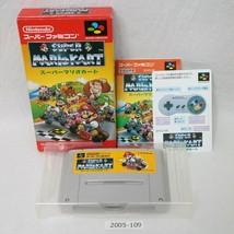Nintendo SNES Super Mario Kart con Scatola Funzionante Sfc Giochi 2005-109 - $37.70