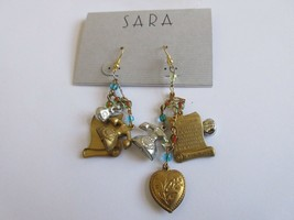 Earrings , Eclectic  , Vintage , Retro , 1970s , New / Old Inventory , 1... - $113.76