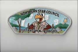 Northern Star Council 2017 National Jamboree JSP (Silver) - $8.91