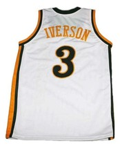 Allen Iverson Bethel High School Basketball Jersey Sewn White Any Size image 5