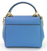 Michael Kors Cross Body Bag Karla Leather Small Handbag French Blue RRP £200 image 5