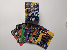 1996 Skybox Marvel Vision Embossed Trading Cards 1-100 Complete Mint/Near Mint - $24.74