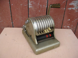 Vintage Paymaster Series 800 Check Ribbon Writer with key - $19.79