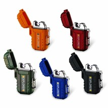 5-Pack Dual Arc Plasma Electronic USB Rechargeable Flameless Lighter Wat... - $43.07