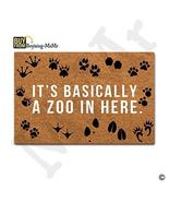 MsMr Doormat Entrance Floor Mat It's Basically A Zoo In Here Mat Indoor ... - $24.74