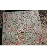 """ANTIQUE ENGLISH FLOWER DESIGN STEPPING STONE MOLD - 24""""x 24""""x 2.5"""" - #SS... - $79.99"""