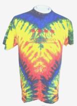 SAN DIEGO T Shirt sz M tie dye California hippie hippy embroidered cotto... - $12.86