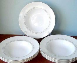 "Royal Doulton Epiphany 8 Piece Soup Bowl Set 8"" Made in U.K New - $194.90"