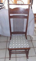 Quartersawn Oak Stick and Ball Rocker / Rocking Chair - $399.00