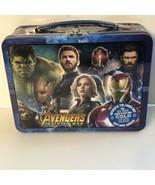 The Tin Box Company Marvel Avengers Infinity War Lunch Box Hulk Iron Man Groot - £9.25 GBP