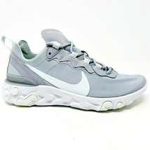 Nike Nike React Element 55 Wolf Grey Ghost Aqua White Womens Size 7.5 BQ2728 005 - $94.95