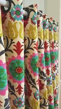 1 Panel Curtain Drape with Rod Pocket OR Grommets Santa Maria Desert Flower - $90.00+