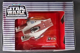 Micro Machines A-Wing Starfighter Galoob Rare Early Variation Star Wars M Intin Bx - $9.75