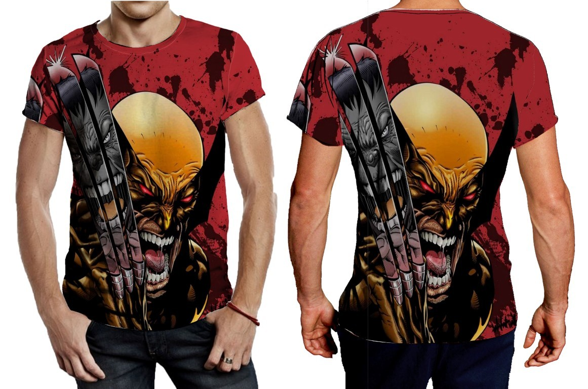 Primary image for Tee Men's ultimate wolverine vs hulk image