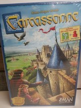 Carcassonne Board Game with Mini Expansions Z-Man Games (New Sealed) - $42.56