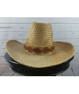 Bailey U-Rollit You Roll It Vintage Straw Cowboy Hat Size 7  - $44.99
