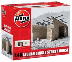 Airfix A75010 Afghan Single Storey House Model Building Kit, 1:48 Scale - $51.99