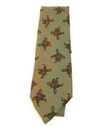 """Vintage Neiman Marcus Silk Horse 3"""" Necktie Made England - $17.41"""