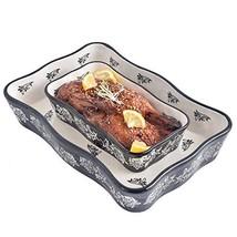 Bakeware Set, Wisenvoy 2 PCS Heat-resistant Ceramic Baking Dish Set, Rec... - $24.24