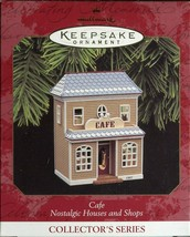 1997 New in Box - Hallmark Keepsake Christmas Ornament - Cafe - $6.92