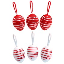 Easter Eggs Home Decorations Red eggs Home Decor Happy Easter Tree Decor - $9.32