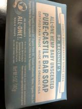 Dr. Bronner's Pure-Castile Bar Soap Baby Unscented Hemp 5oz. - $156,03 MXN