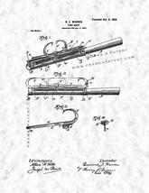 Fish Gaff Patent Print - Gunmetal - $7.95+