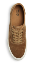 Brand New Mossimo Supply Co Women's Savannah Brown Tan Corduroy Sneakers  image 3