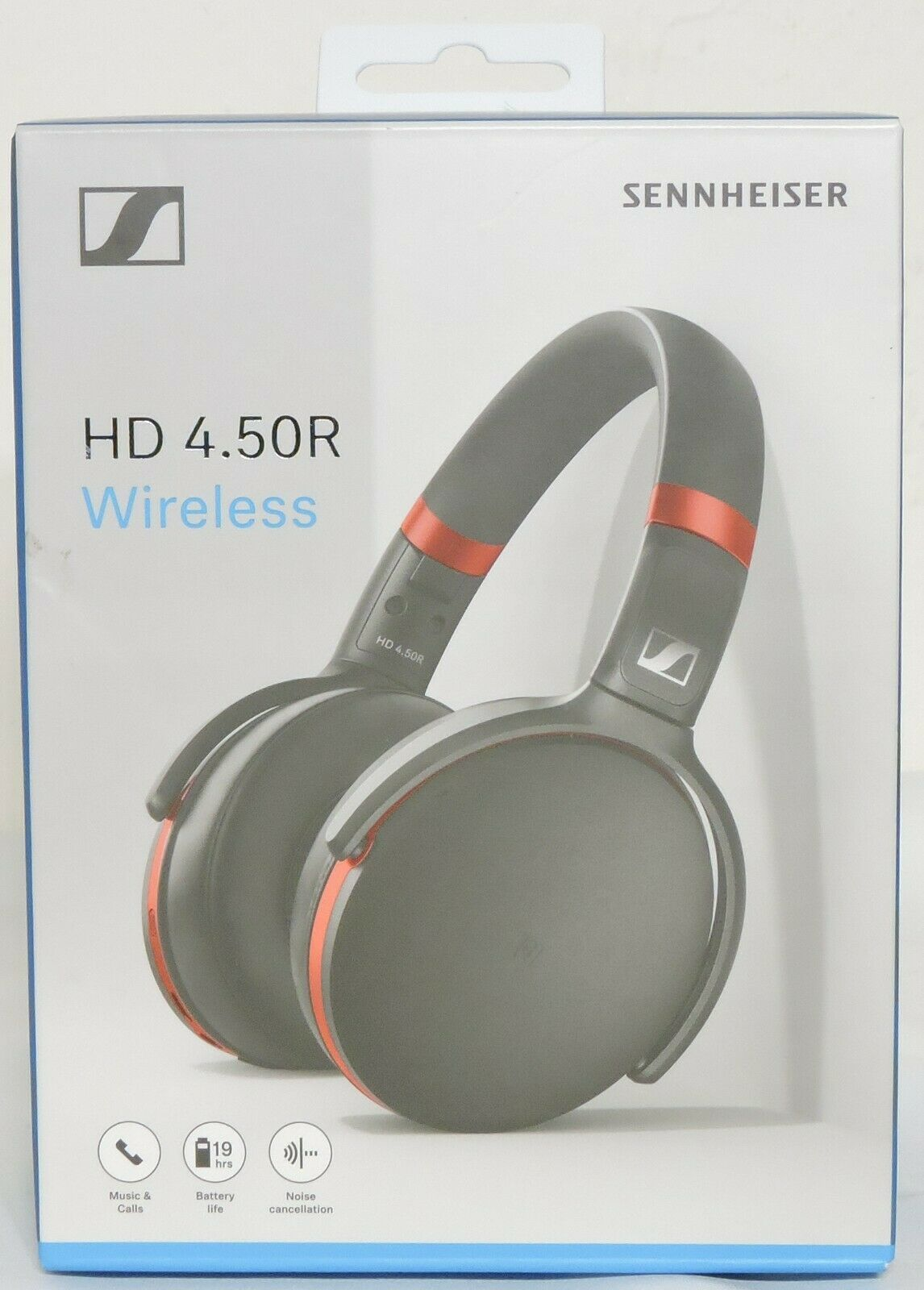 Primary image for Sennheiser HD 4.50R Wireless Bluetooth Over-Ear Headset Noise Cancellation Mic