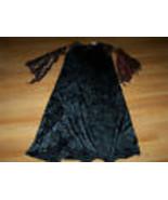 Size Medium 8 Spider Witch Black Velour Halloween Costume Dress Disguise... - $18.00