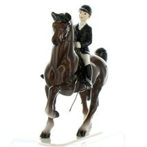 Hagen Renaker Specialty Horse Dressage with Rider Ceramic Figurine image 6
